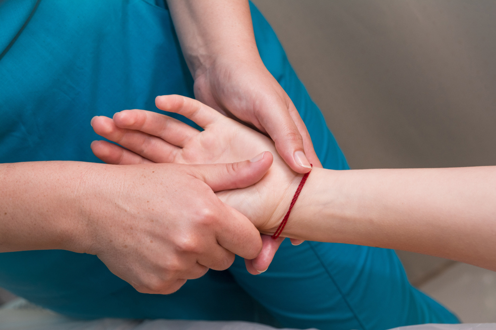 Handmassages bij Sociale Regionale Dienst